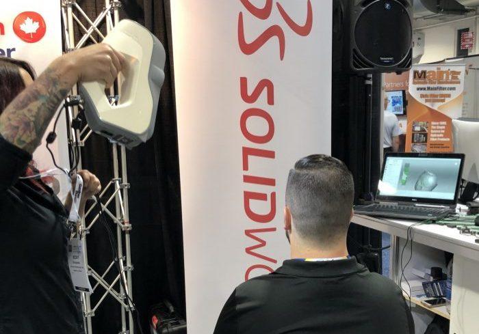 Artec Eva 3D Scanner at GPS Trade Show