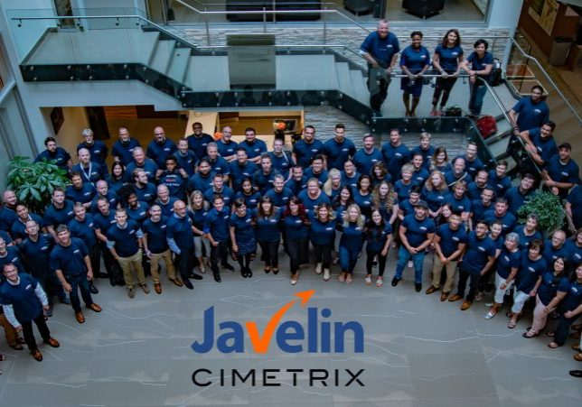 Javelin-Cimetrix Team Photo 2018