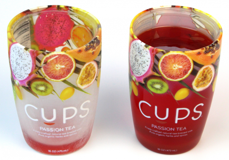 Product packaging design printed on J55 Prime