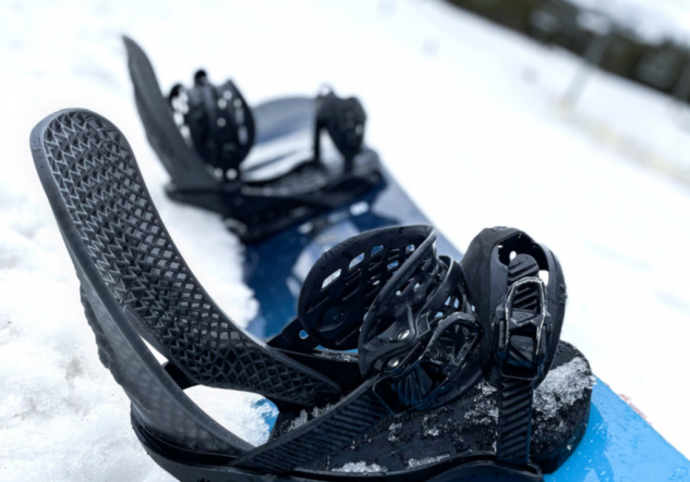 Origin One 3D printed snowboard components