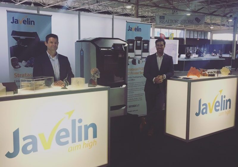 Javelin Booth at the BC Tech Summit
