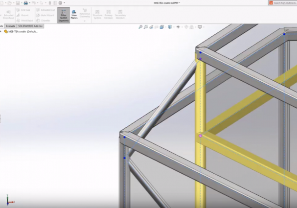 SOLIDWORKS 2019 Structure System