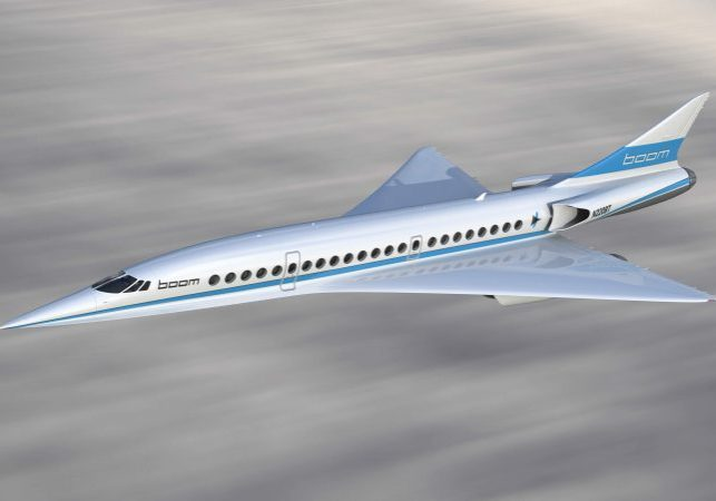 Boom Supersonic Aircraft