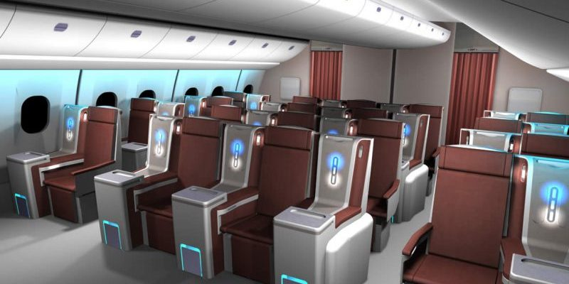Aerospace interior design