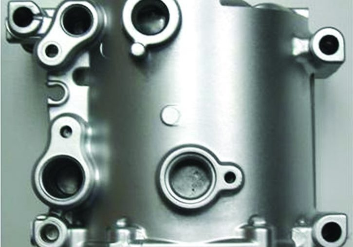 automotive component from tooling