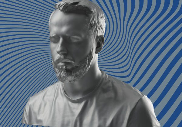 Beard hair 3D scan