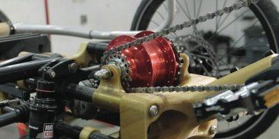 Carbon fiber nylon parts