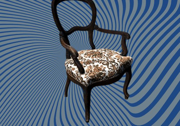 Classic chair 3D Scan