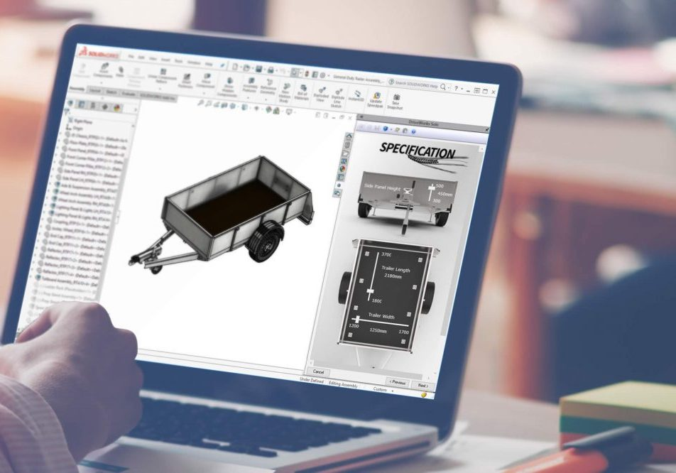 DriveWorks SOLIDWORKS Automating design