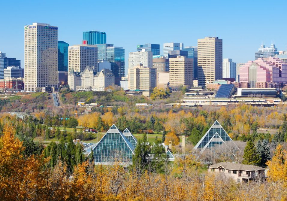 Edmonton Alberta Location