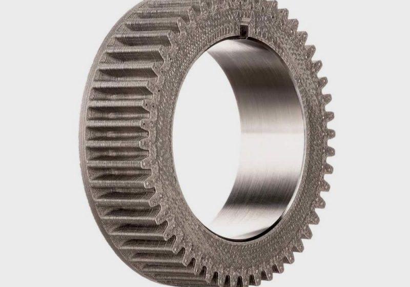 Functional metal part