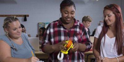 Humber students 3D printed parts