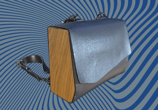 Leather bag 3D scan