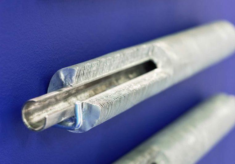 Metal heat pipe