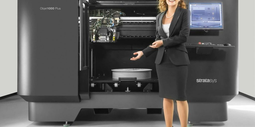 Objet1000 Plus Large 3D Printer for full-scale prototypes