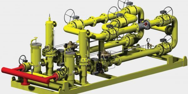 Conception pour le pétrole et le gaz