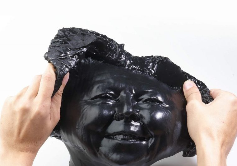 Rubber-like mask