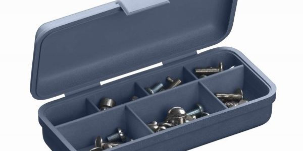 Simulated polypropylene box screws