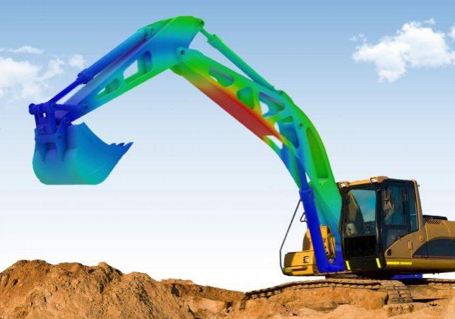 SIMULIA Excavator Analysis