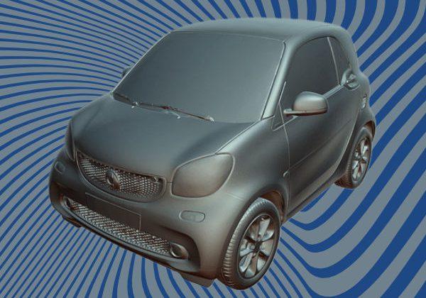 Smart car 3D scan