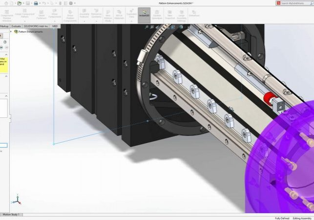 SOLIDWORKS 2020 Assembly Patterns