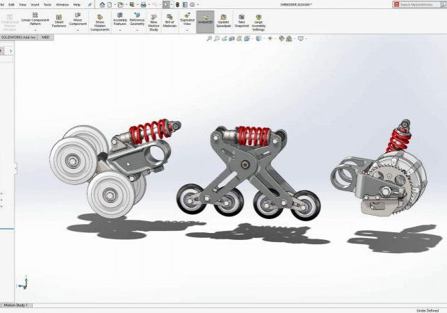 SOLIDWORKS 2020 Flexible Assemblies