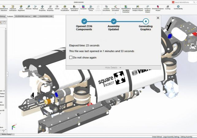 SOLIDWORKS 2021 Assembly Performance