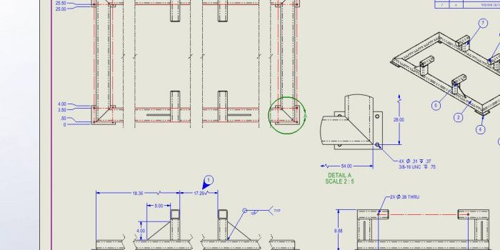 SOLIDWORKS 2021 Drawing