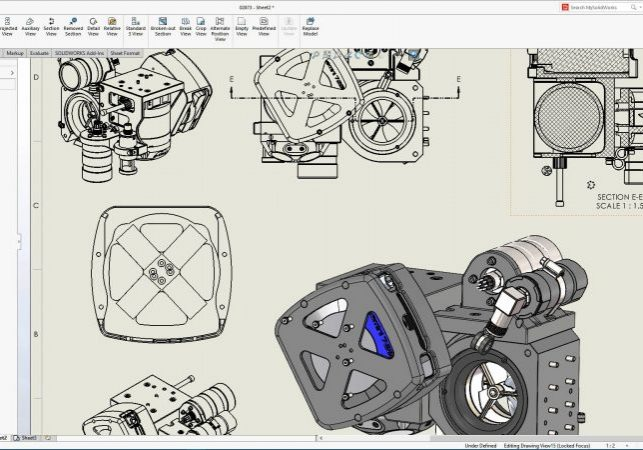SOLIDWORKS 2021 Drawing Performance