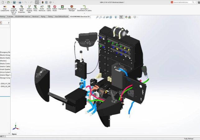 SOLIDWORKS 2022 Routing