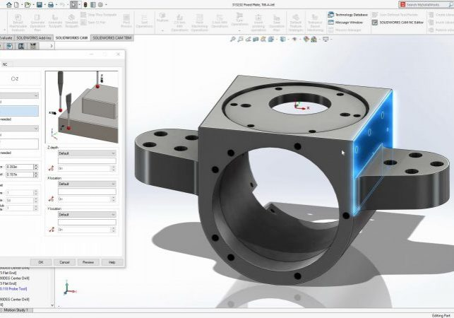 SOLIDWORKS CAM 2020 Probing