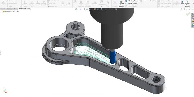 SOLIDWORKS CAM Professional High Speed Machining