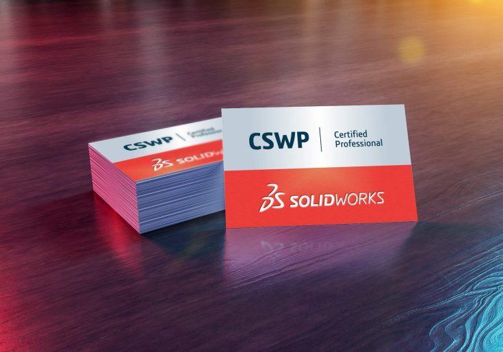 SOLIDWORK CSWP Certification