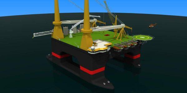 SOLIDWORKS Drilling Rig design