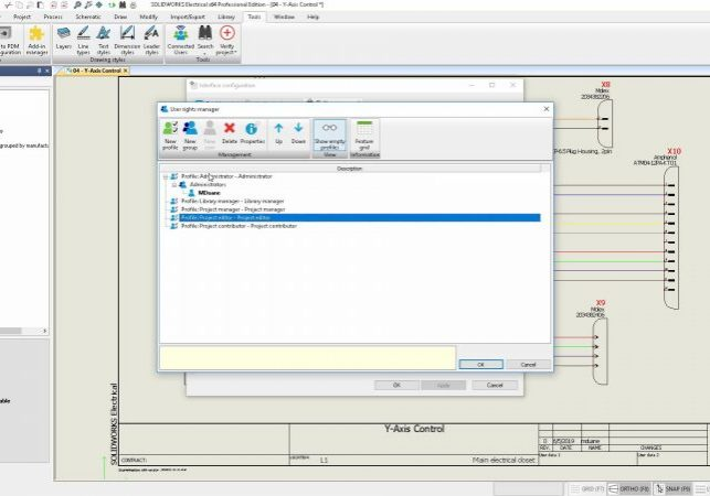 SOLIDWORKS Electrical 2020 User Rights
