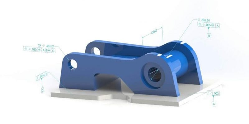 SOLIDWORKS MBD Example Welded Part