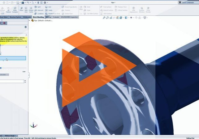 SOLIDWORKS Mesh Tools