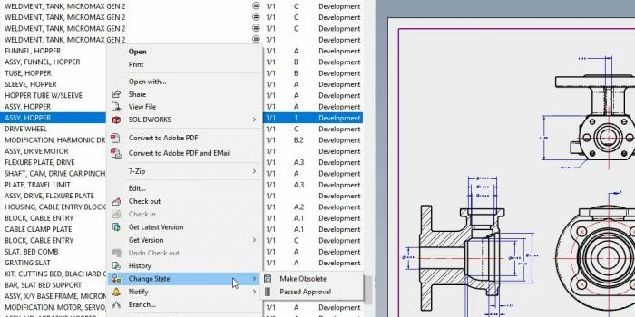 SOLIDWORKS PDM 2020 Workflow