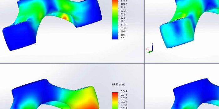 SOLIDWORKS Simulation distributed loading