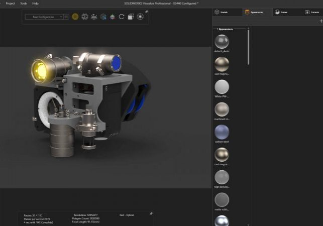 SOLIDWORKS Visualize 2021