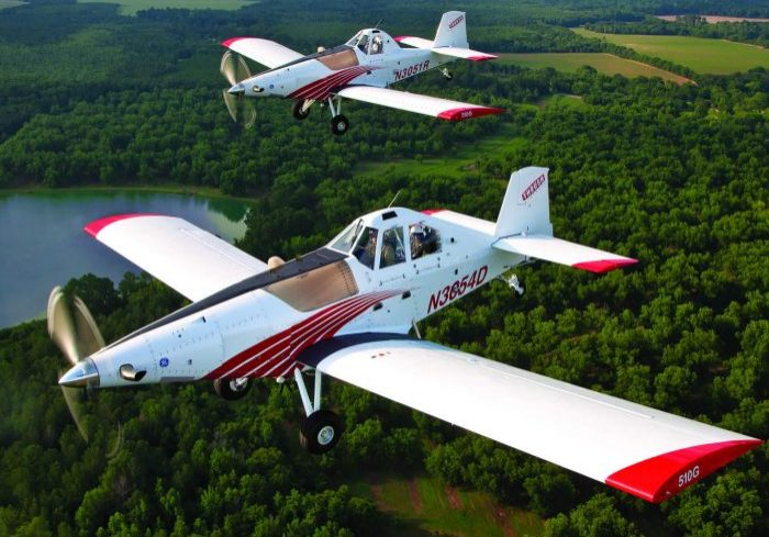 Thrush aircraft development