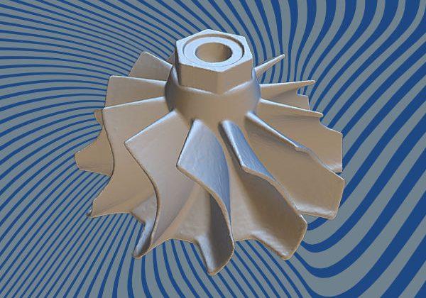 Turbine 3D Scan