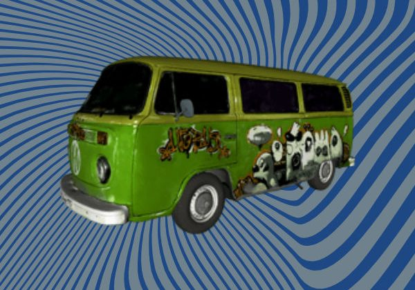VW Bus 3D Scan