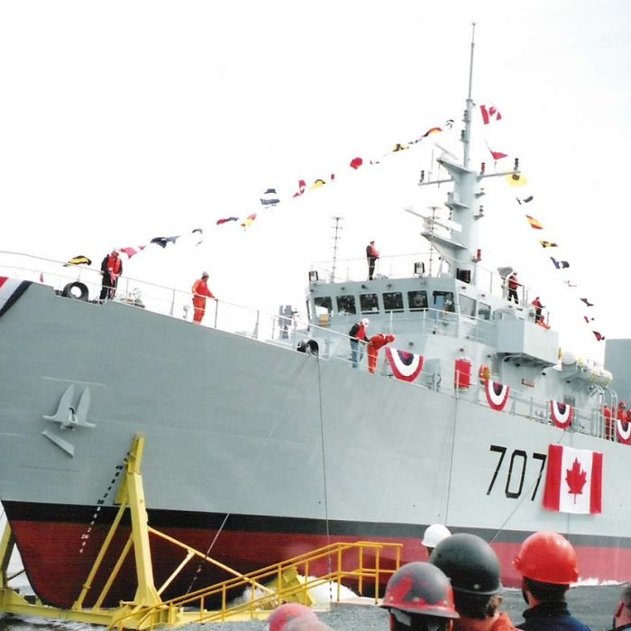 Canadian Navy Maritime Coastal Defense Vessel