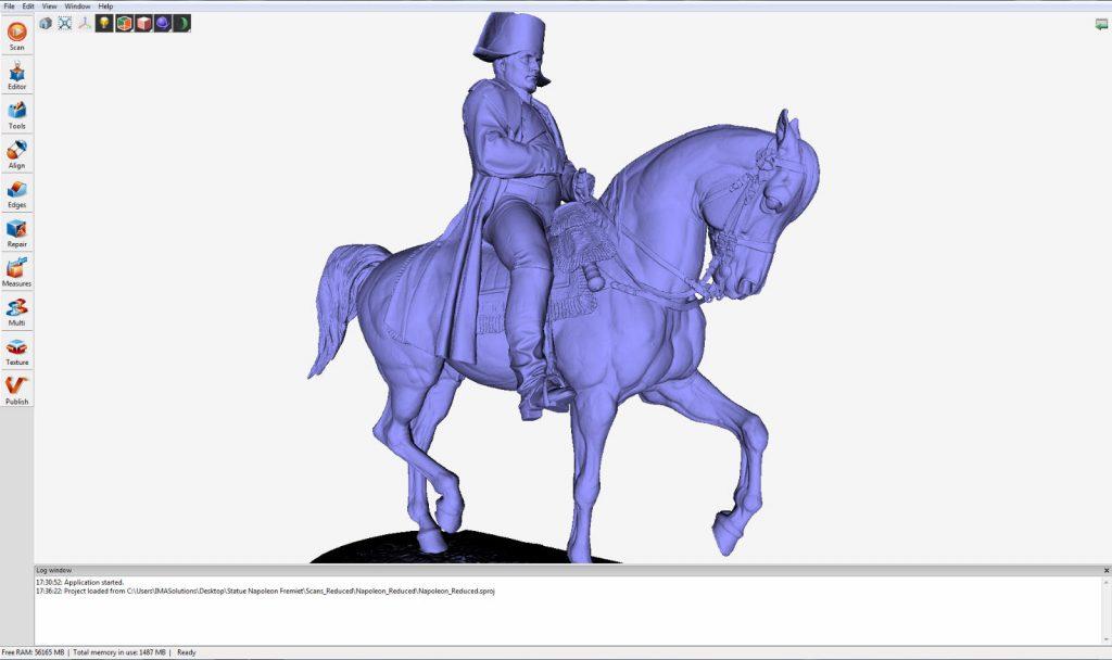 Captured Napoleon 3D Scan