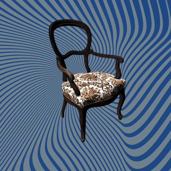 Classic chair 3D Scan