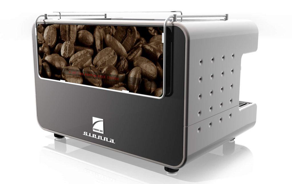 Coffee machine graphics