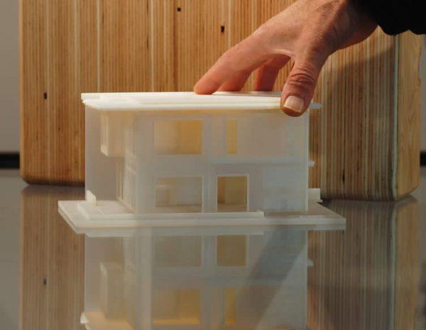 Comox apartment building model