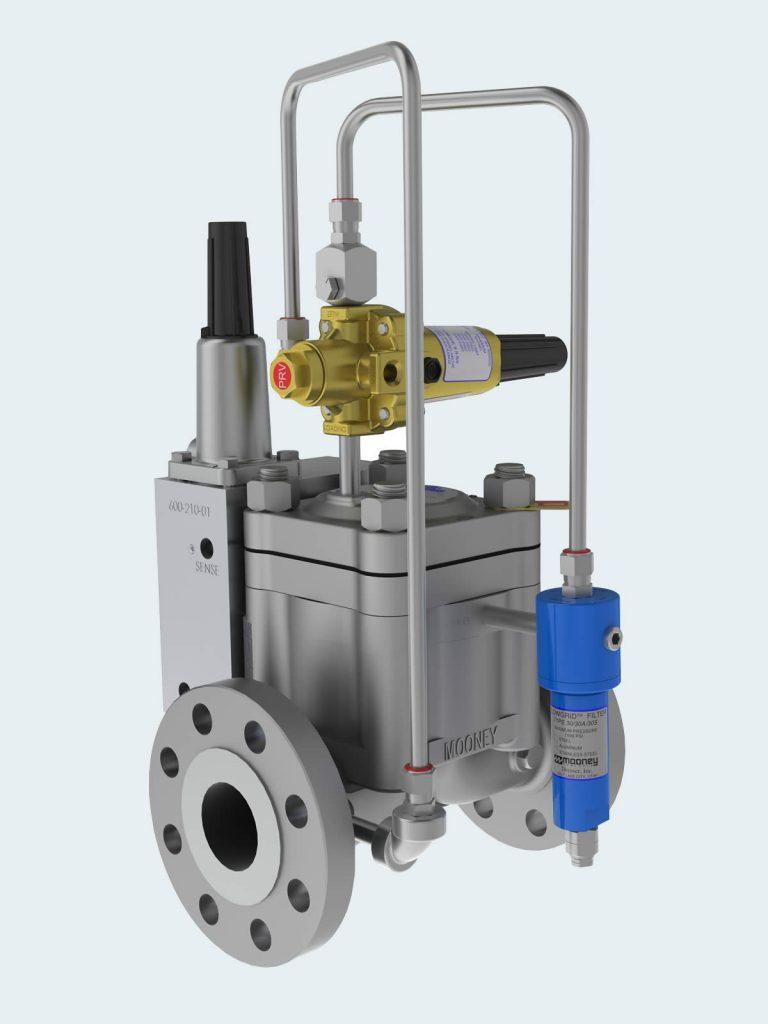 Regulator valve design