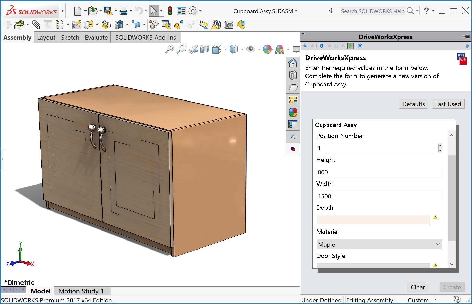 DriveWorks SOLIDWORKS Add-in for Automation & Sales